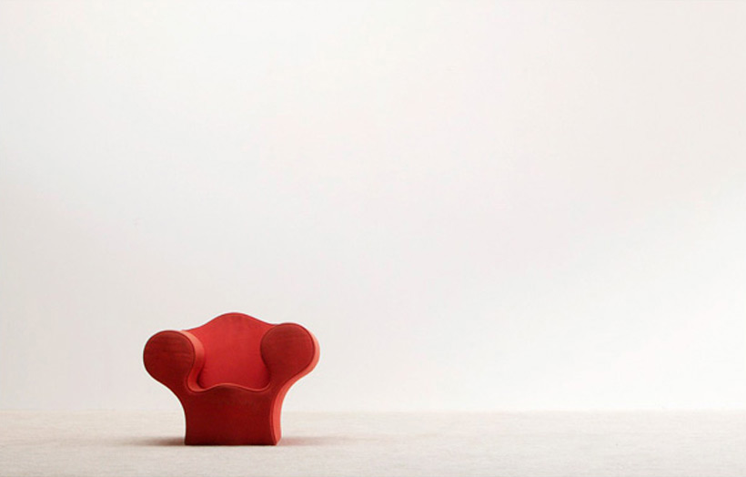 Ron Arad Big Soft Easy children chair Moroso img 3