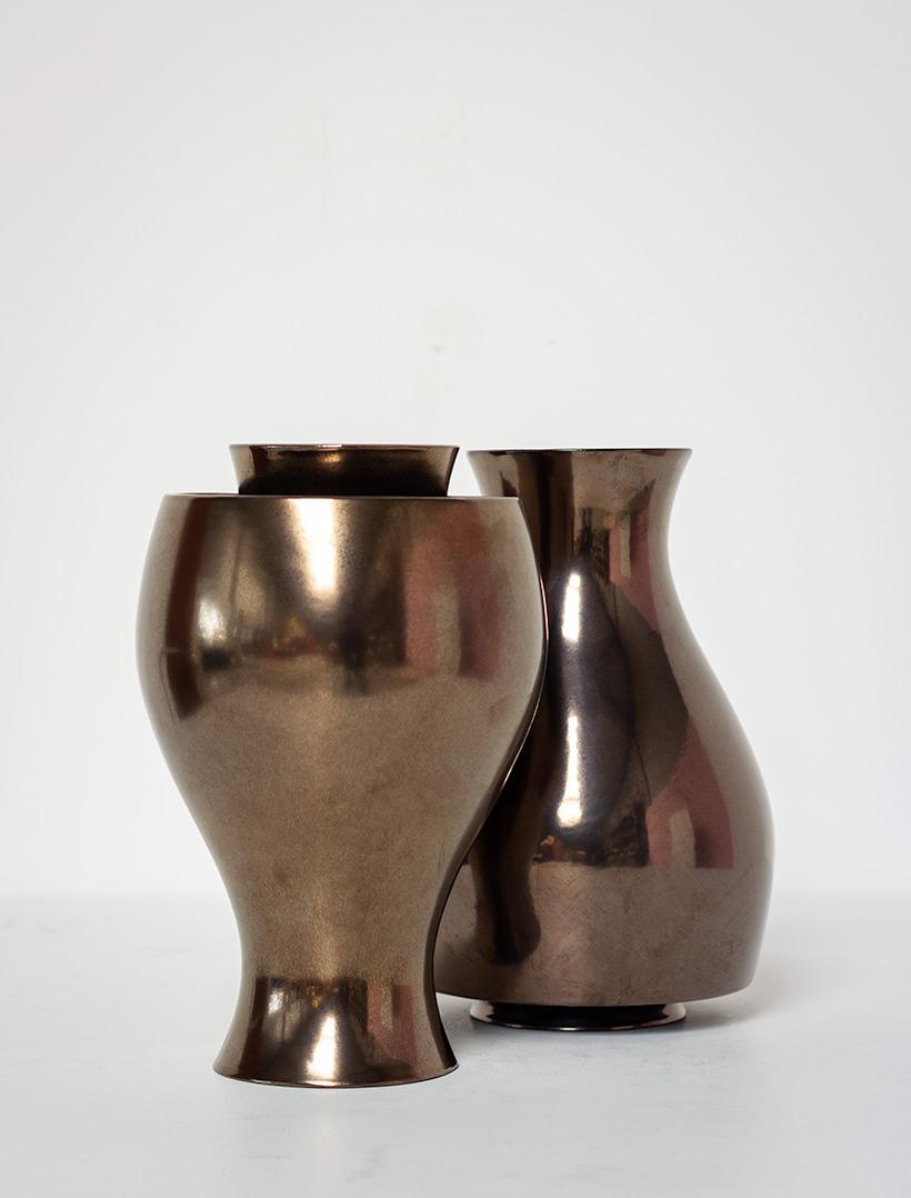 Ron Arad Pair of ceramic vases Jive for Cor Unum img 3