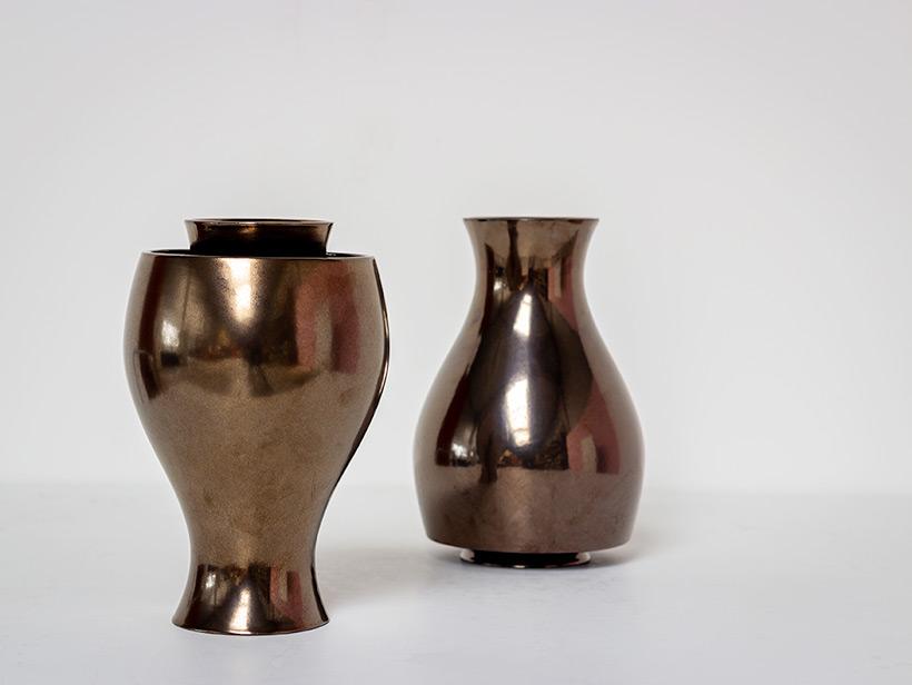 Ron Arad Pair of ceramic vases Jive for Cor Unum img 4