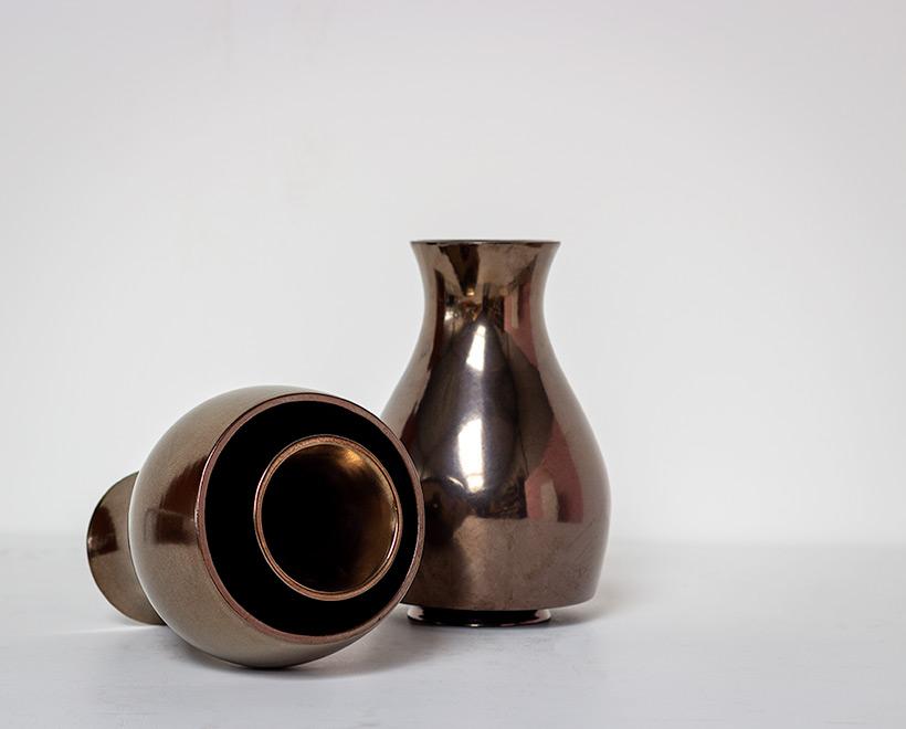 Ron Arad Pair of ceramic vases Jive for Cor Unum img 5