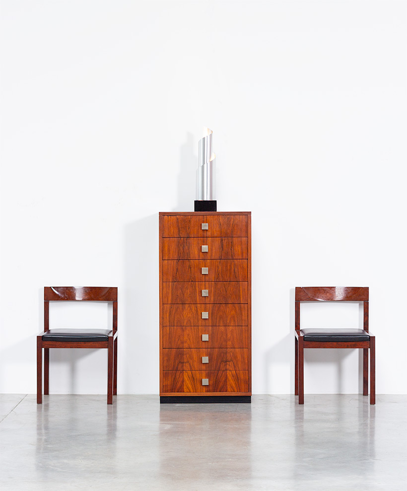 Rosewood chest of drawers Alfred Hendrickx for Belform 1960