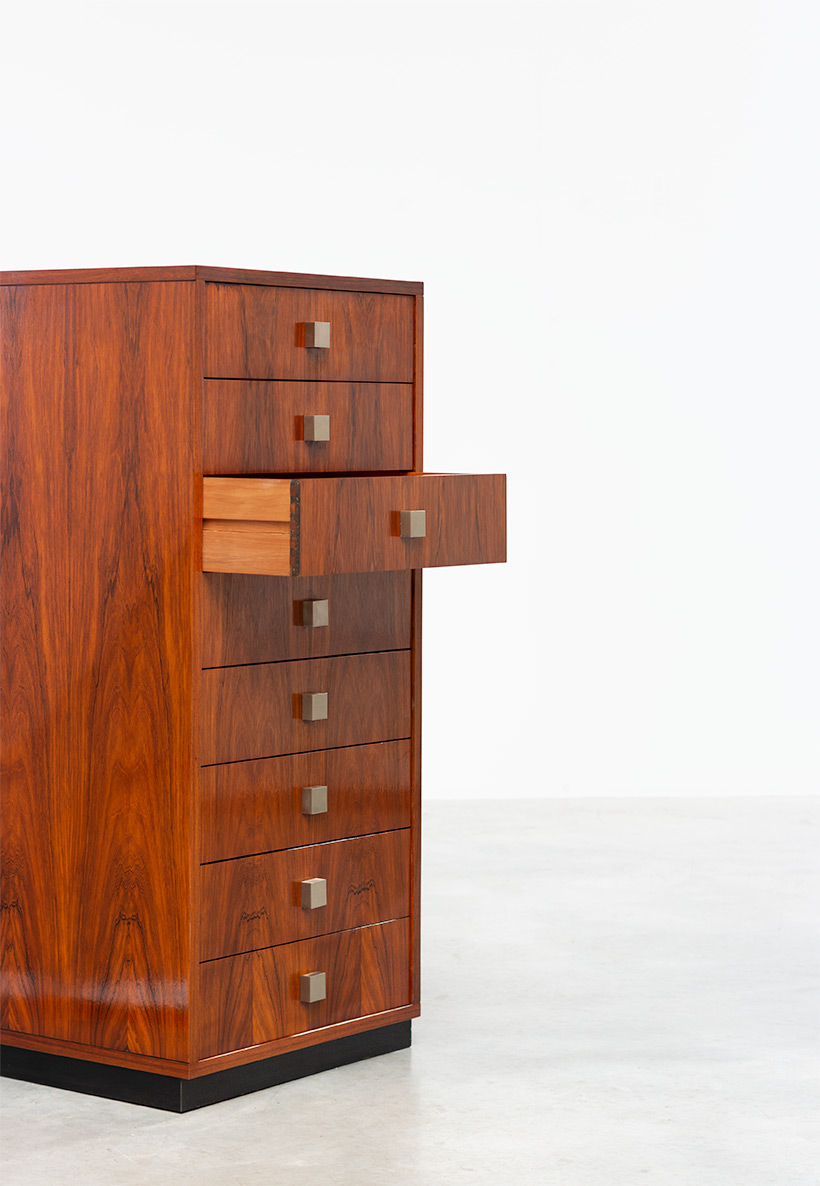 Rosewood chest of drawers Alfred Hendrickx for Belform 1960 img 5