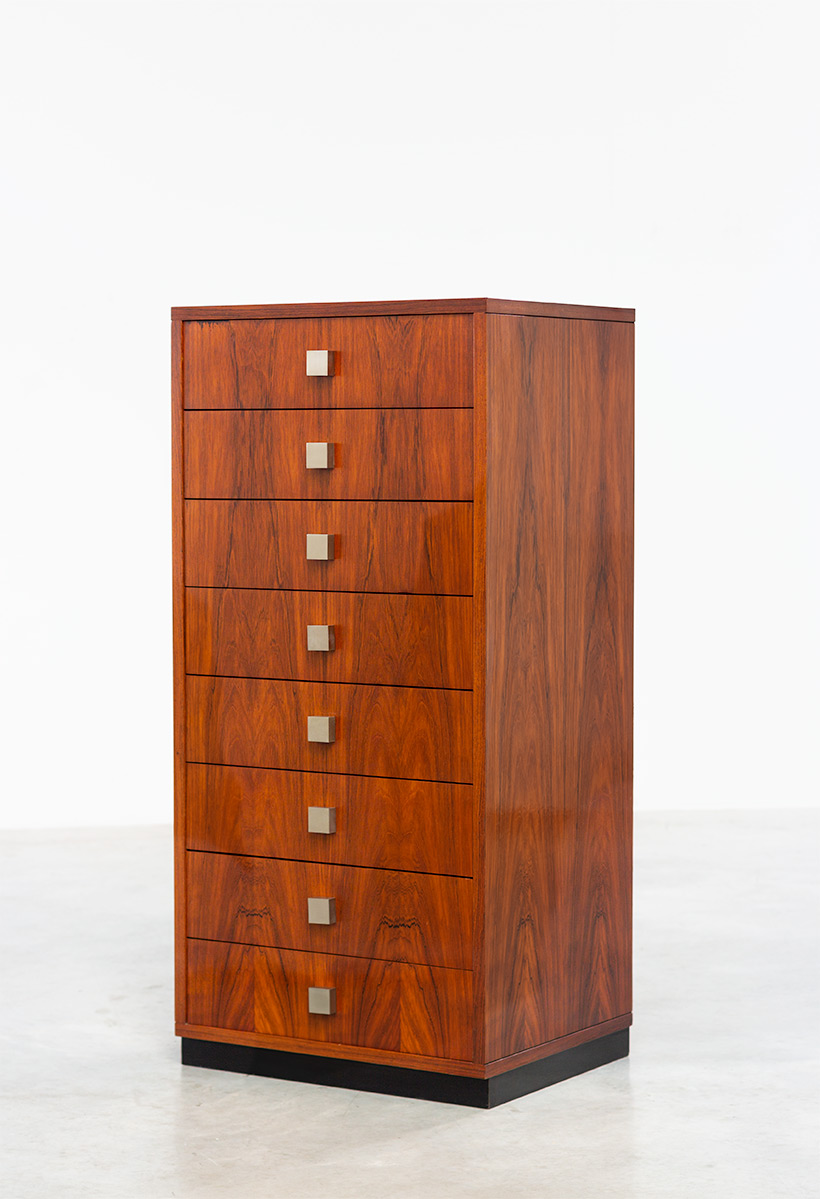 Rosewood chest of drawers Alfred Hendrickx for Belform 1960 img 6