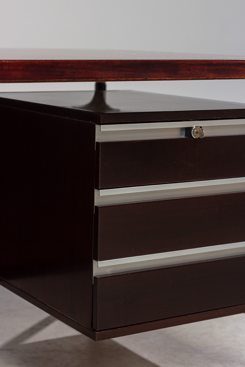 Rosewood executive desk by Luisa and Ico Parisi for MIM 1960 img 10