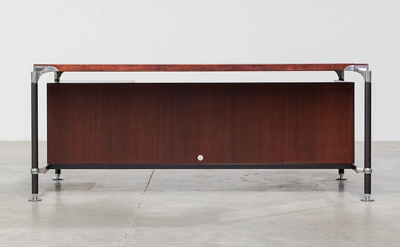 Rosewood executive desk by Luisa and Ico Parisi for MIM 1960 img 3