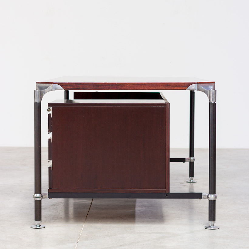 Rosewood executive desk by Luisa and Ico Parisi for MIM 1960 img 6