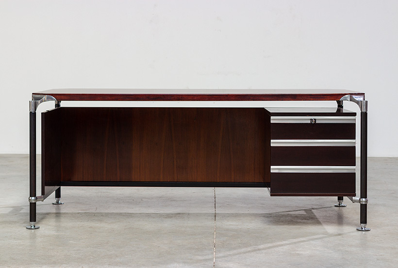 Rosewood executive desk by Luisa and Ico Parisi for MIM 1960 img 9