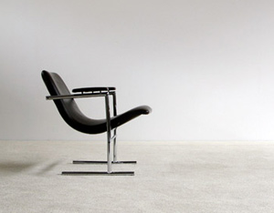 Rudi Verelst armchair Oslo for Novalux