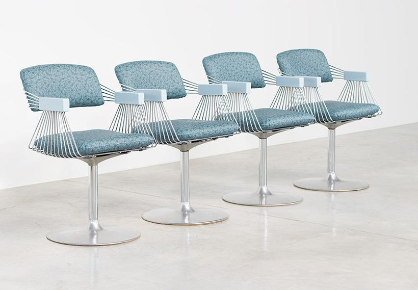 ... Rudi Verelst Set Of Four Dinning Chairs Novalux 1974 Img 4 ...