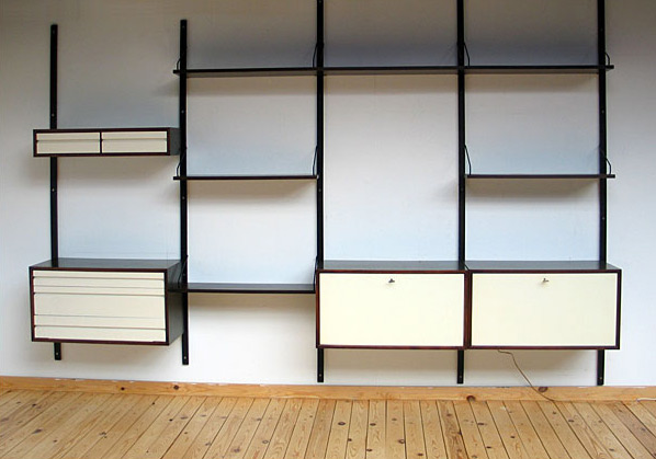 Scandinavian Wall unit Poul Cadovius Royal System Denmark