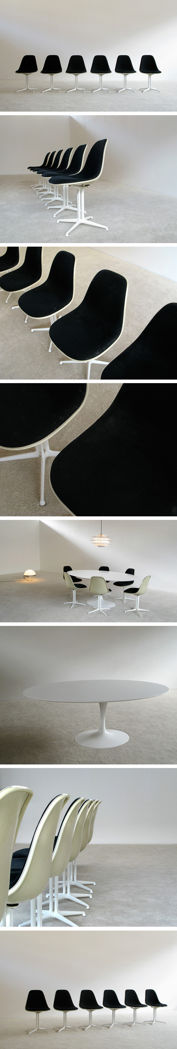 six la fonda dinning chairs charles ray eames herman miller large charles ray furniture
