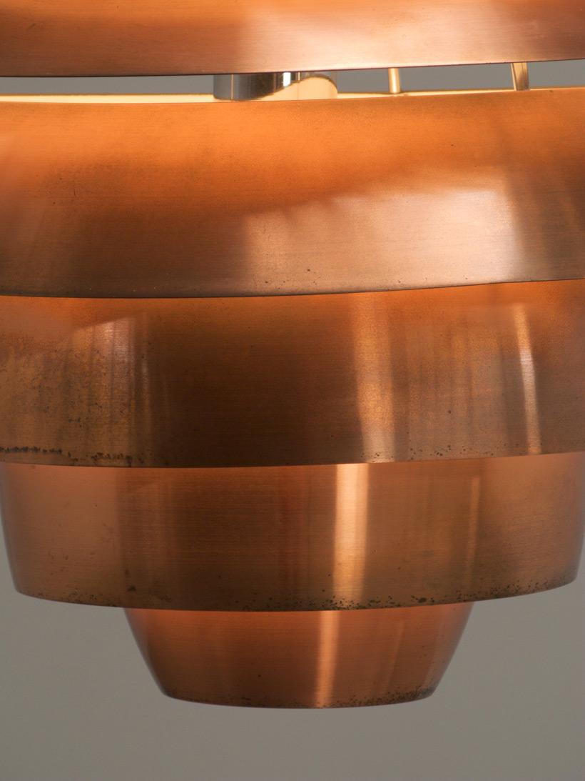 Stilnovo Copper Chandelier 1958 img 5