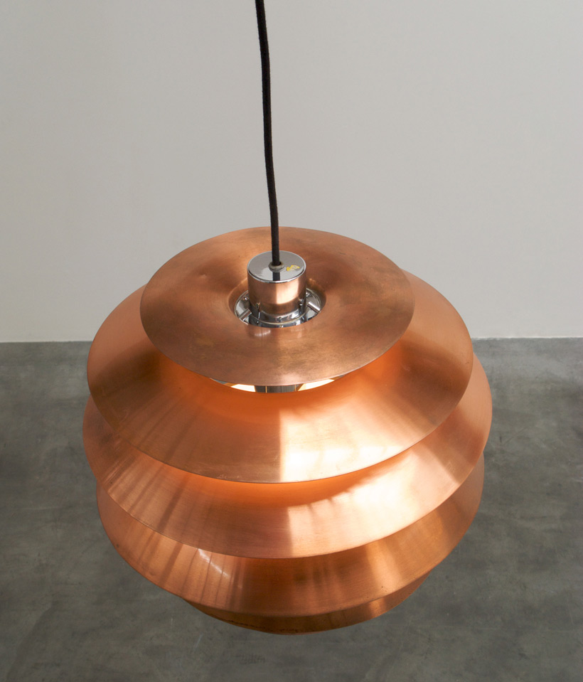 Stilnovo Copper Chandelier 1958 img 7