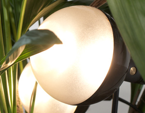Targetti altalite 4 floral lamps