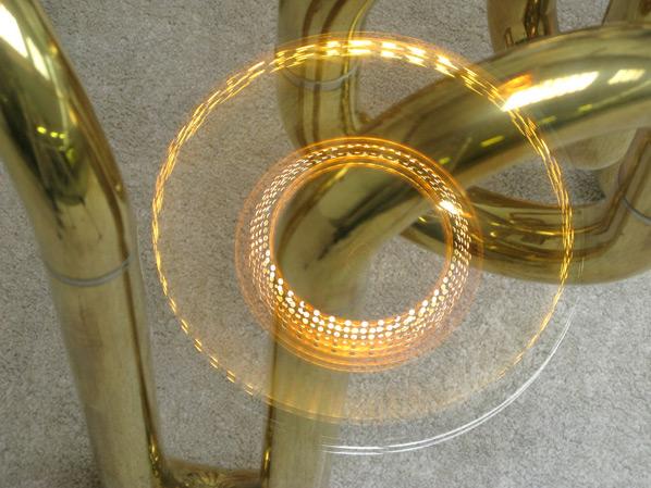 Tobia Scarpa Fior di loto ceiling lamp