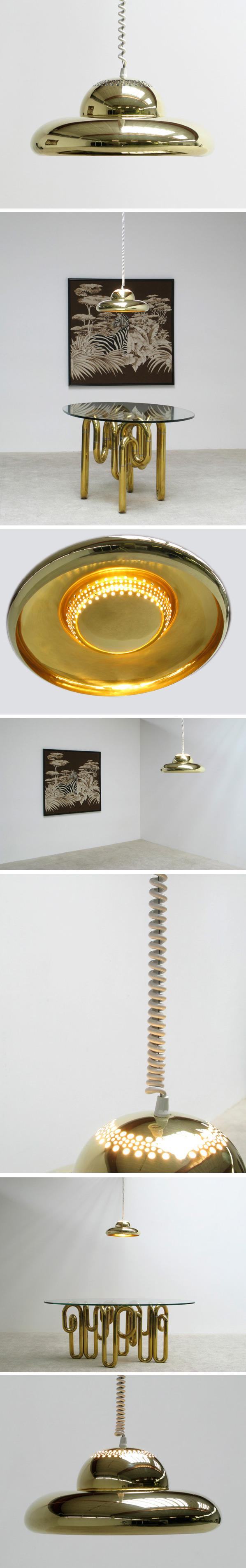 Tobia Scarpa Fior di loto ceiling lamp Large