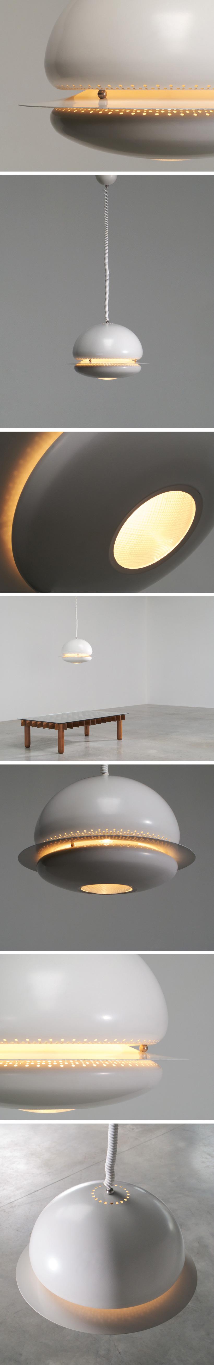 Tobia Scarpa Nictea ceiling lamp Flos Large