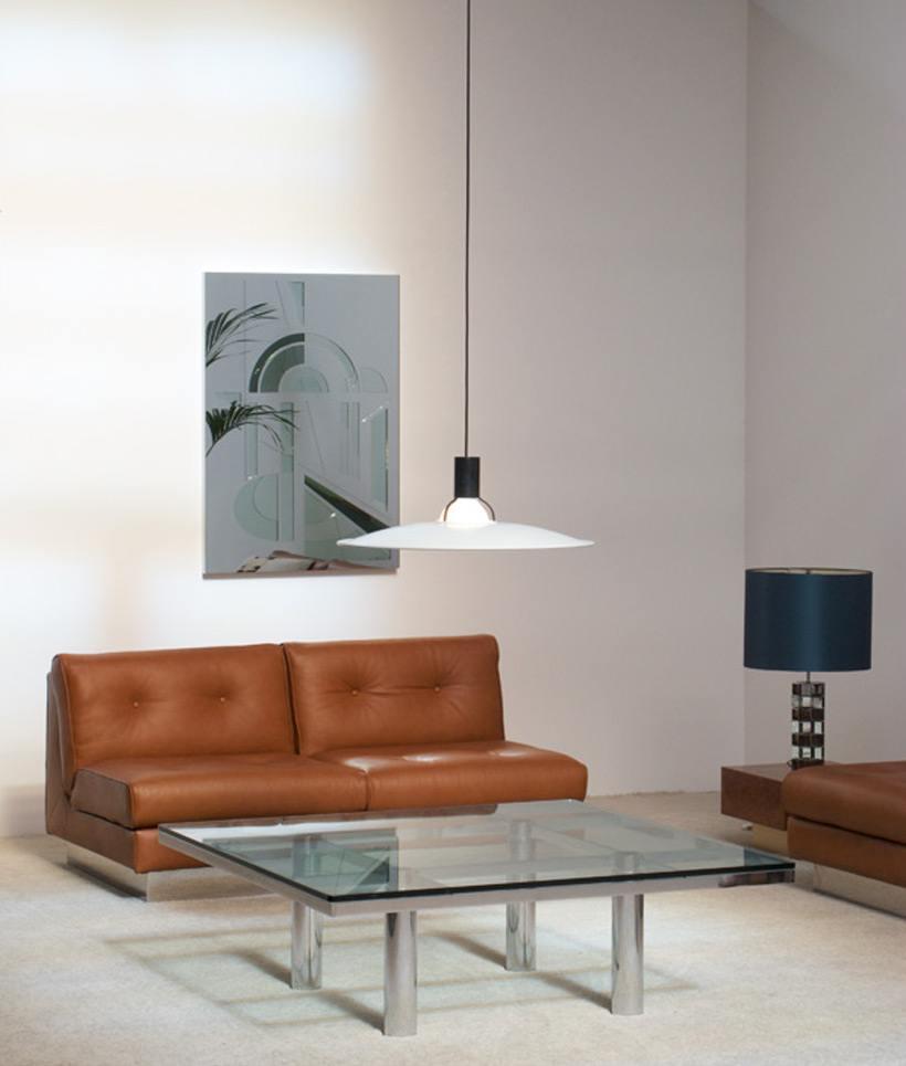 Tobia Scarpa Square Coffee table Andre for Gavina