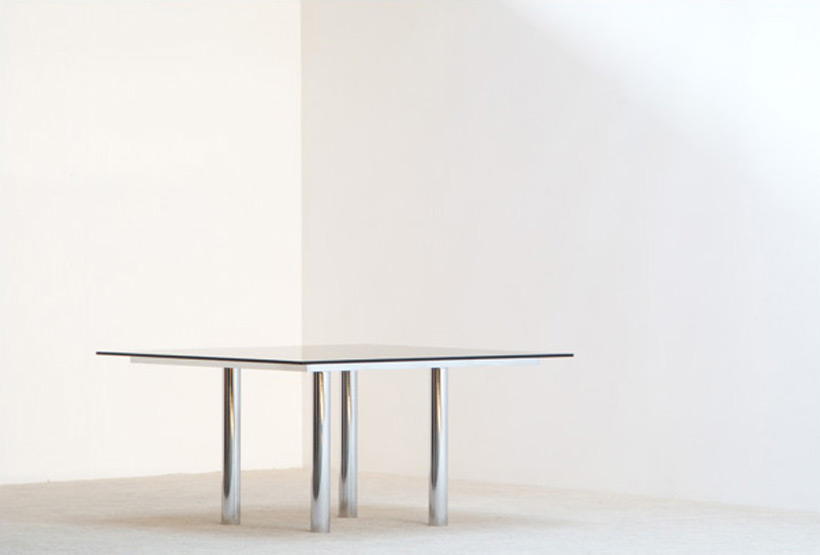 Tobia Scarpa Square dinning table Andre for Gavina