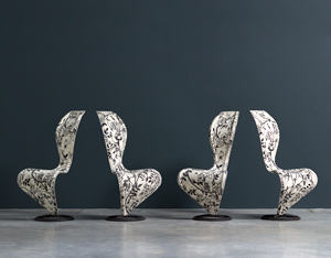 Tom Dixon S-Chair Cappellini limited edition