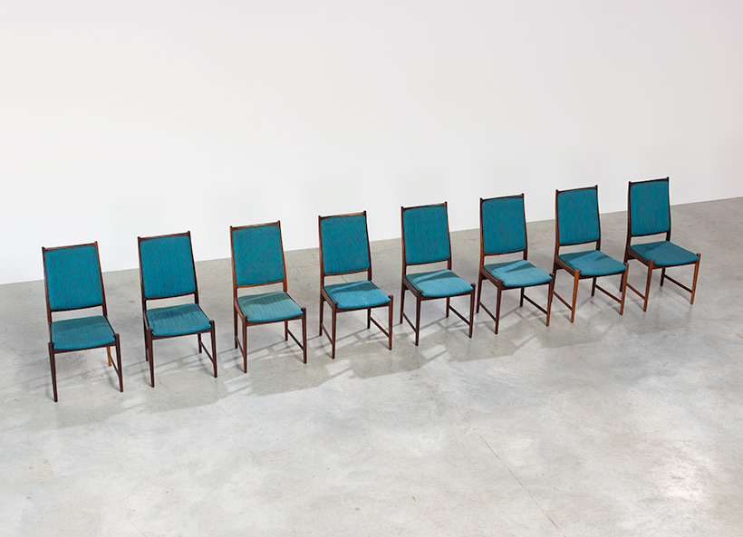 Torbjorn Afdal set of 8 Brazilian rosewood dining chairs img 5