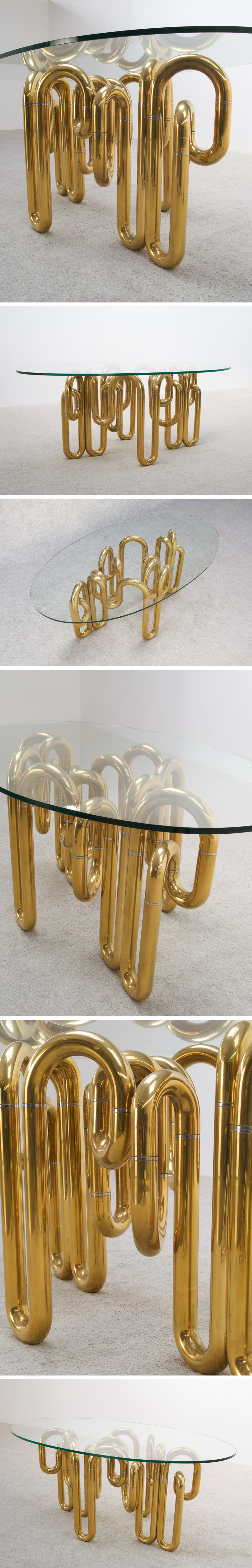 Trombone exceptional dinning table Large