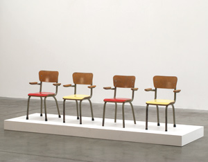 Tubax 4 school chairs for children