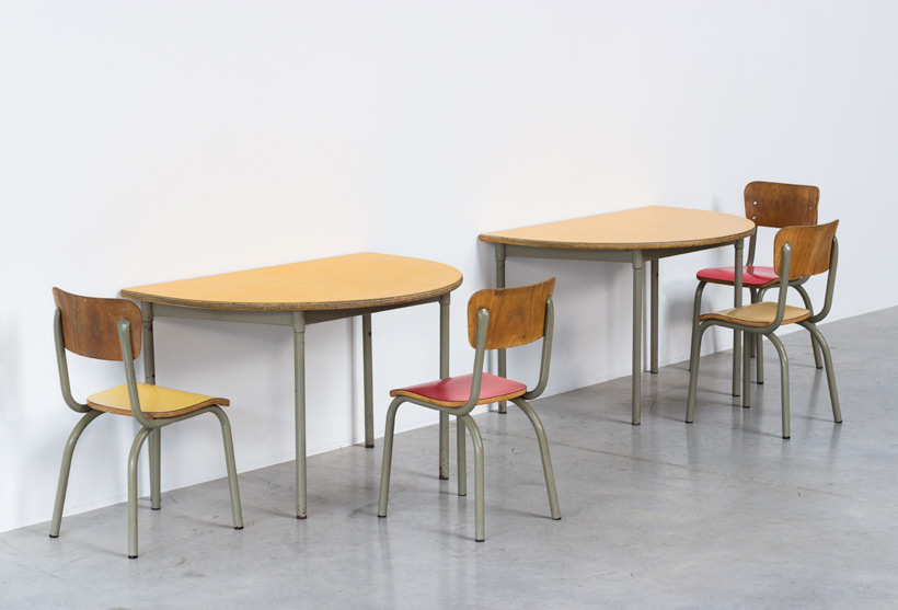 Tubax school tables with 4 chairs for children img 3