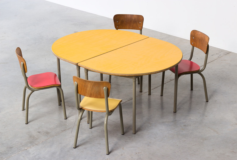 Tubax school tables with 4 chairs for children img 4