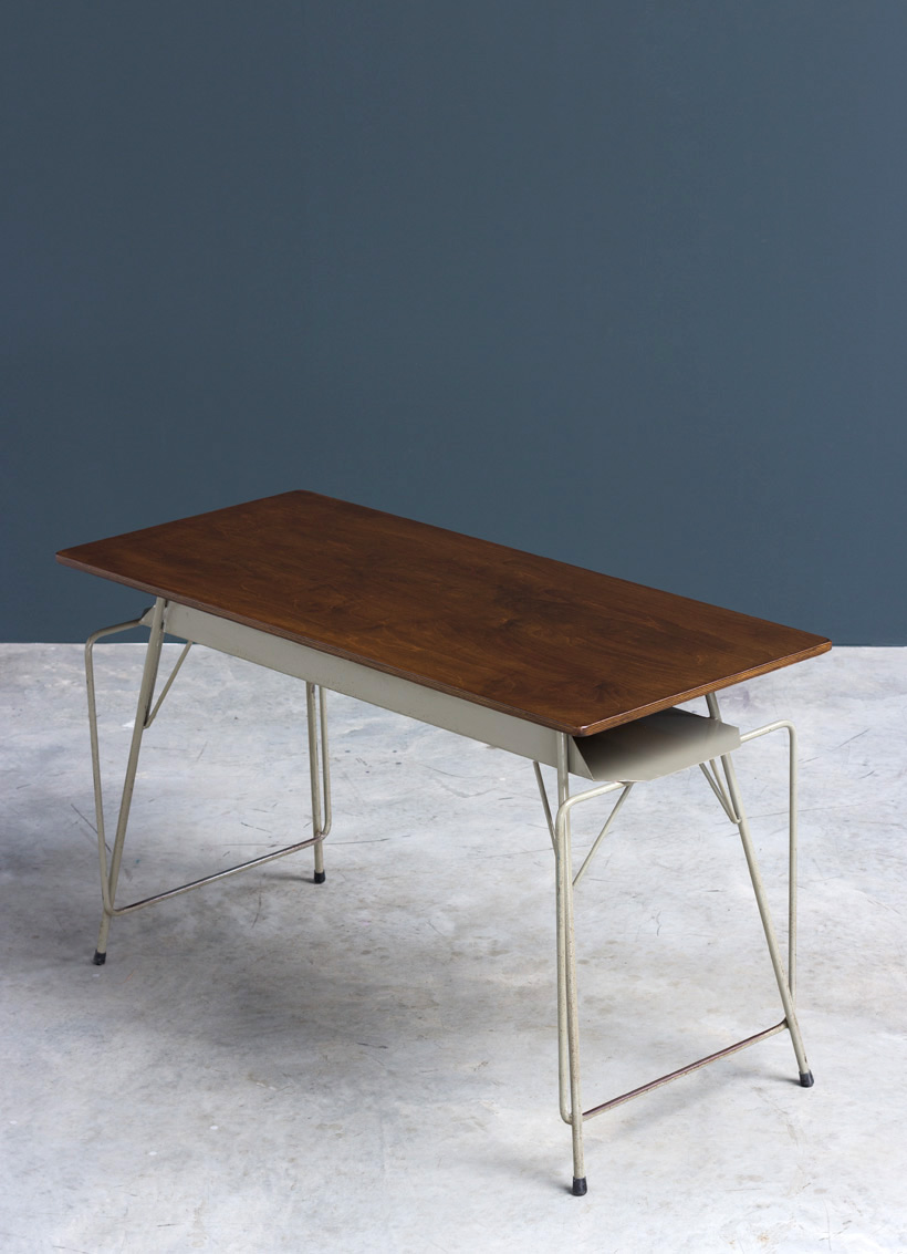 Tubax Willy Van Der Meeren grey desk writing table