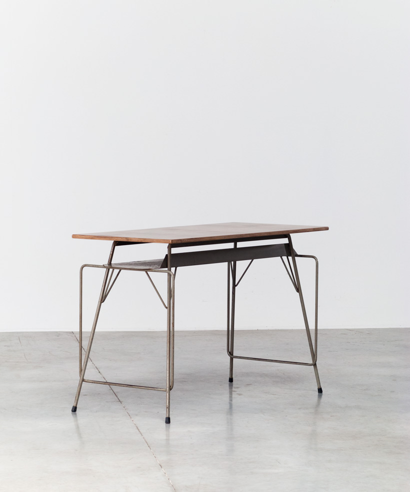 Tubax Willy Van Der Meeren grey writing table