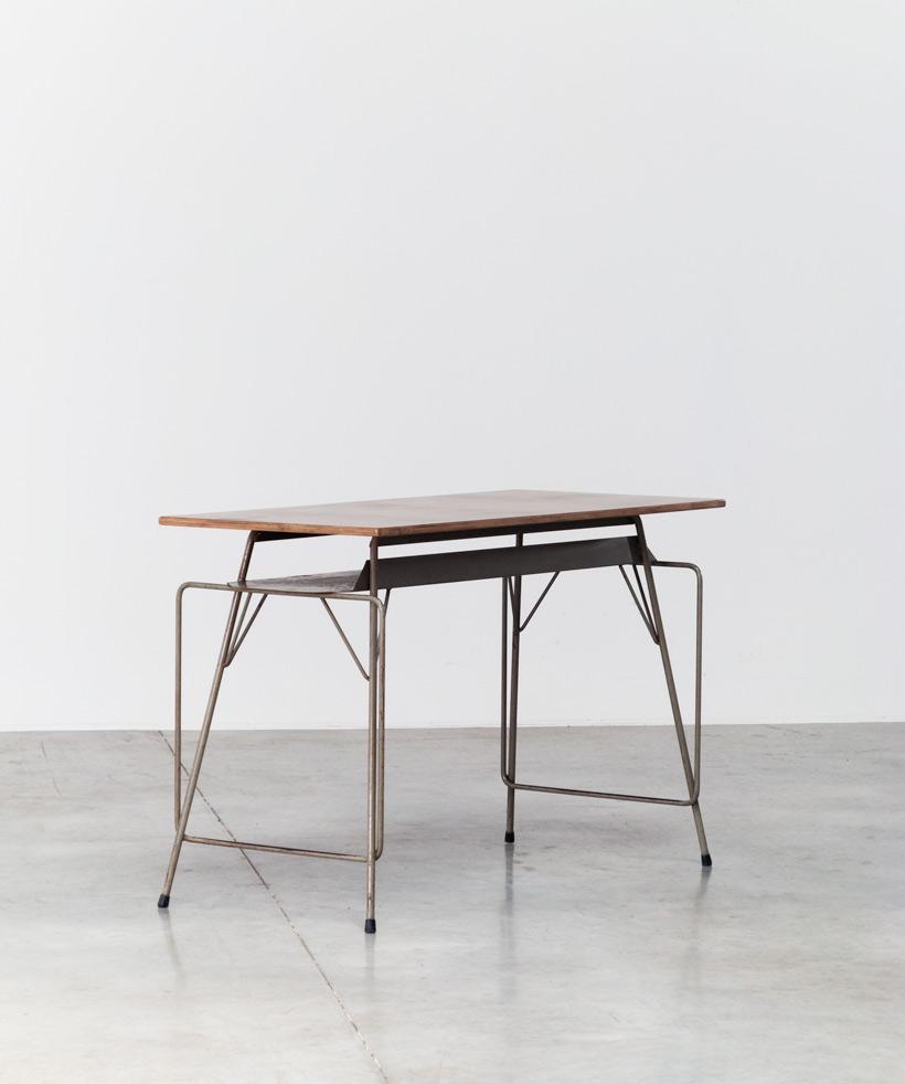 Tubax Willy Van Der Meeren grey writing table