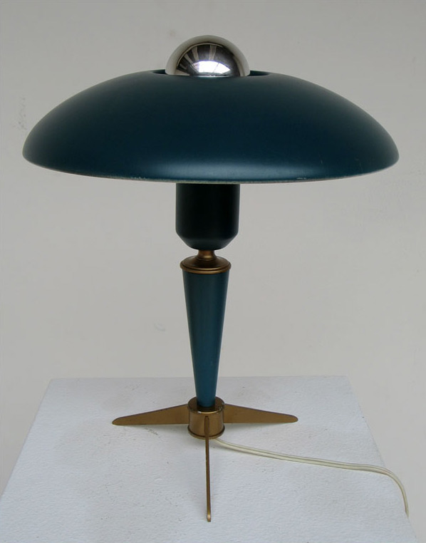 ufo lamp by louis kalff for philips furniture. Black Bedroom Furniture Sets. Home Design Ideas
