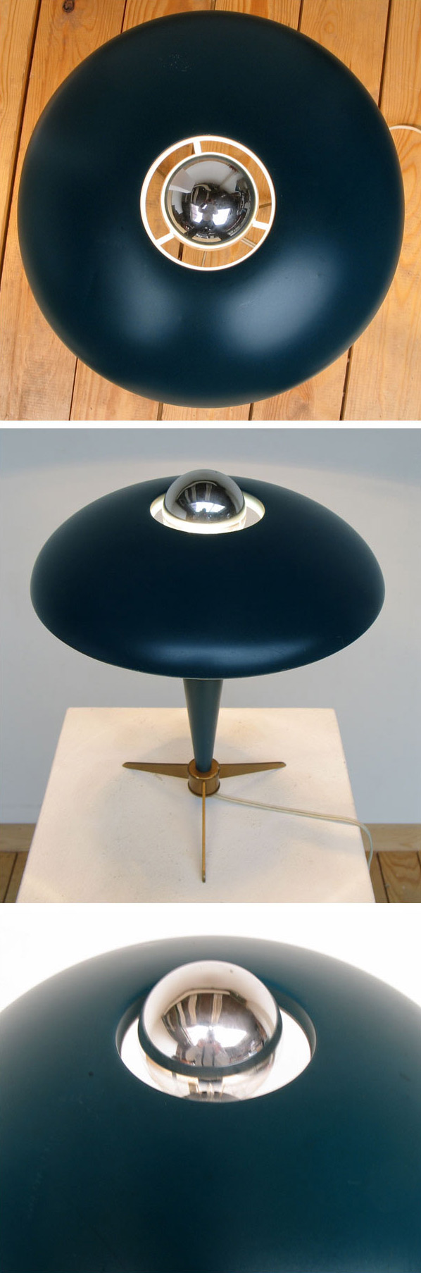 UFO Lamp by Louis Kalff for Philips Large