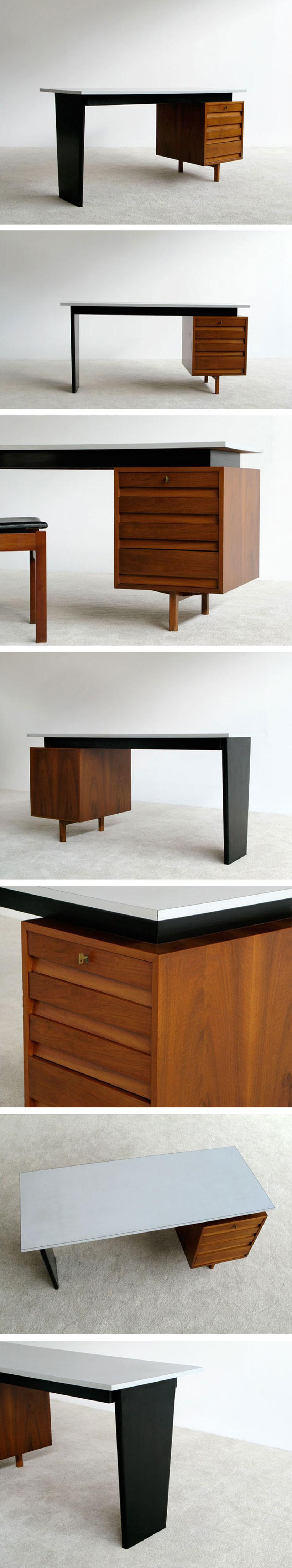 Van den Berghe-Pauvers Jos De Mey modern office desk Large
