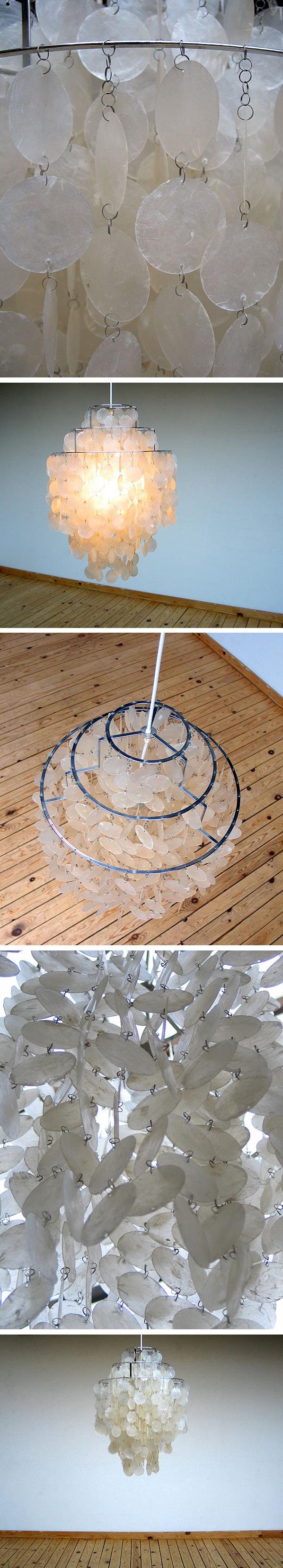 Verner Panton chandelier Fun 1 DM J Luber AG Large