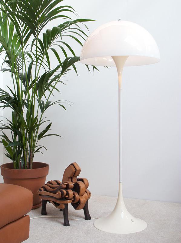 Verner Panton Panthella floor lamp Louis Poulsen