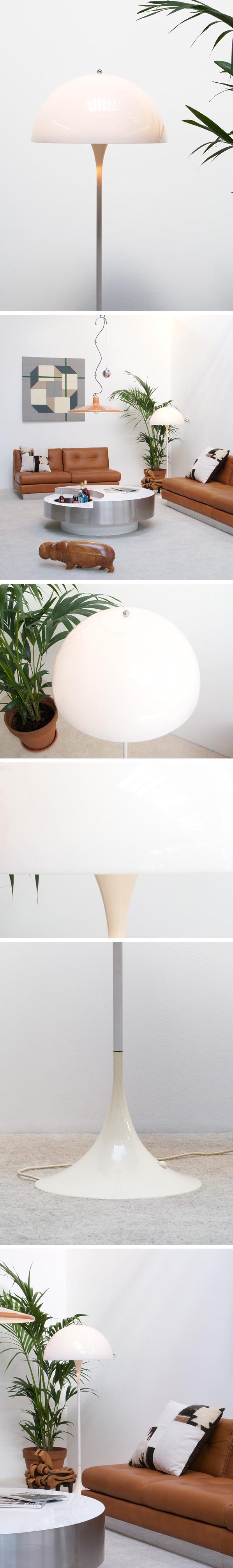 Verner Panton Panthella floor lamp Louis Poulsen Large