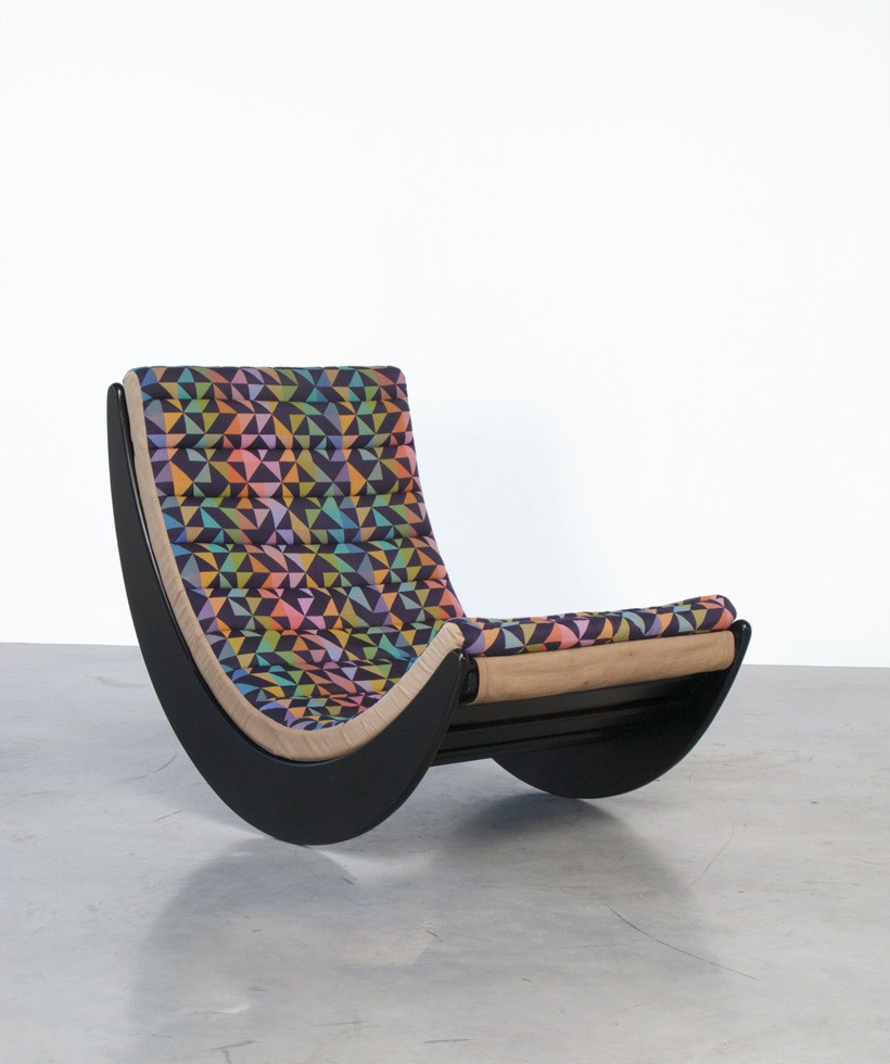 verner panton relaxer 2 rocking chair rosenthal furniture. Black Bedroom Furniture Sets. Home Design Ideas