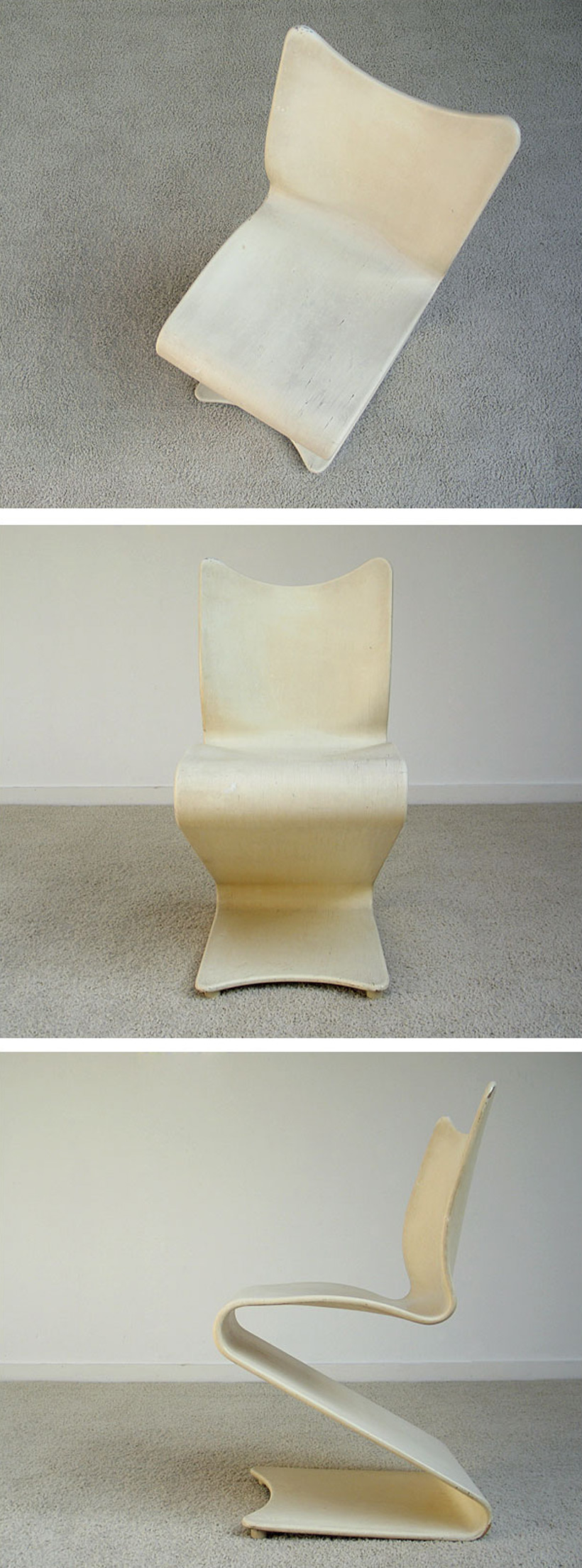 Verner Panton S-chair model 275 Thonet Large
