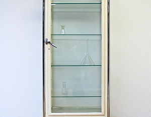 Vintage Medical Surgery cupboard 1950