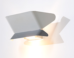 Wall light Etap sconce 1950 Industrial Modernism