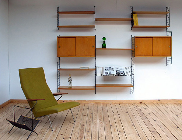 Wall Unit Karin and Nisse Strinning 1950 Sweden
