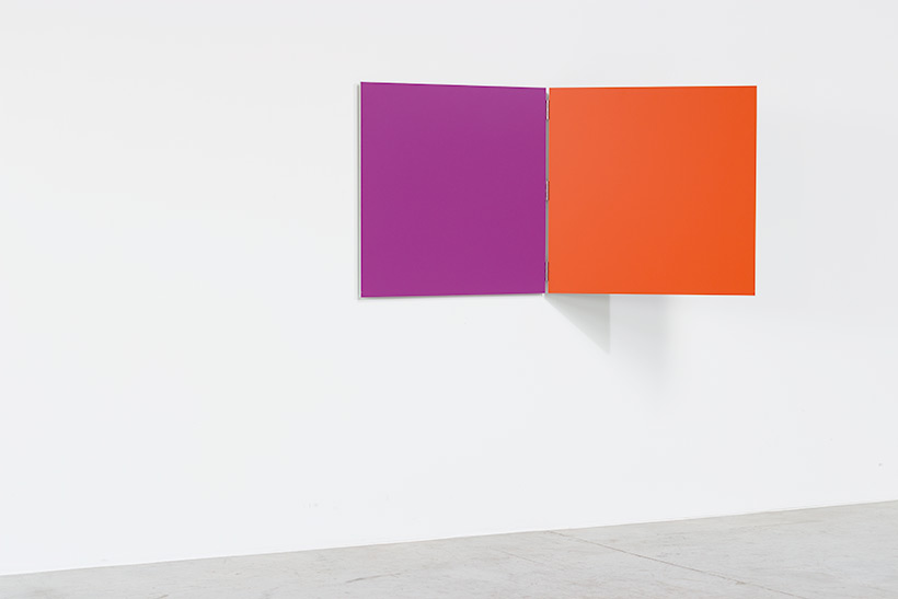 Willem Cole geometric abstraction Deux Couleurs Claire Bataille img 4