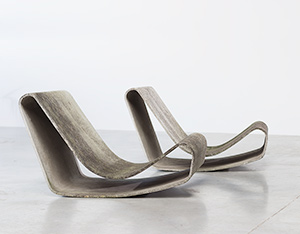 Willy Guhl loop garden chairs for Eternit AG 1954