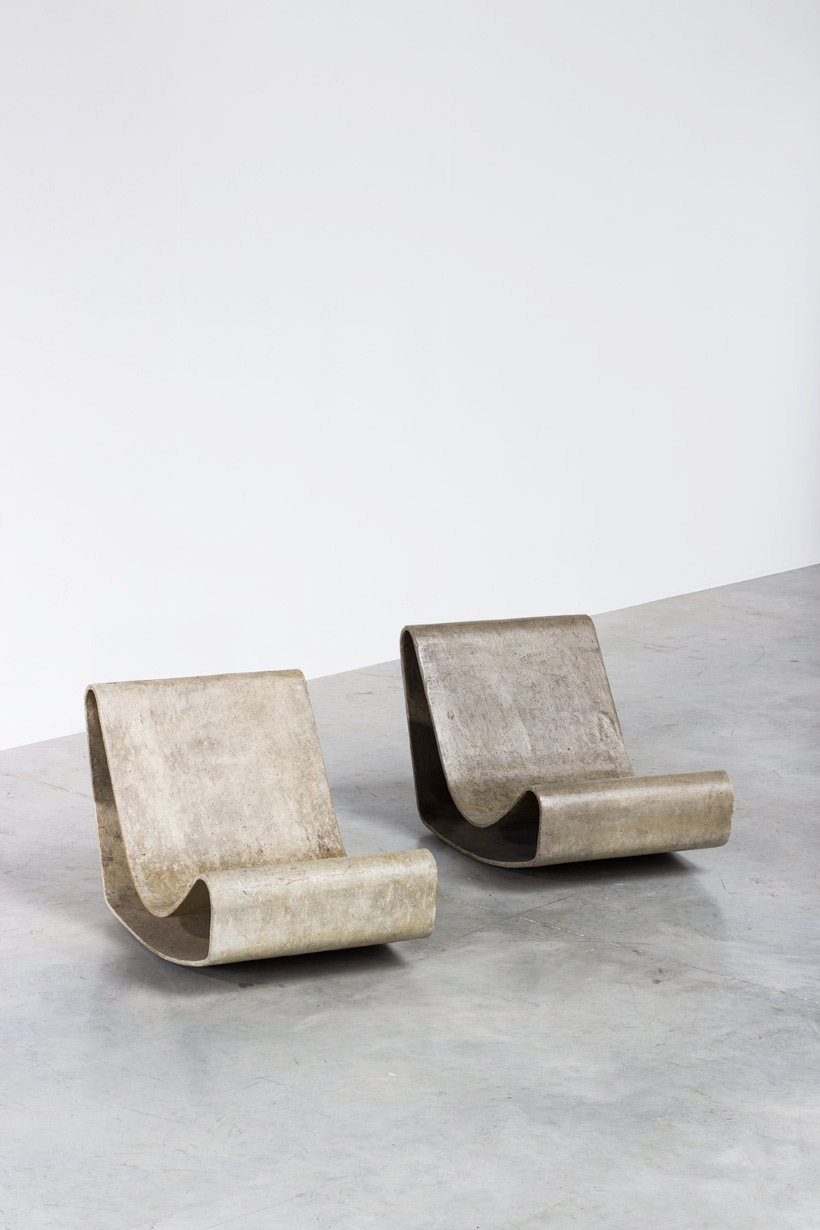 Willy Guhl lounge loop chairs Eternit AG 1954