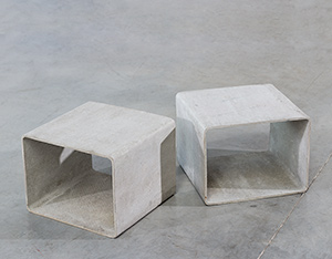 Willy Guhl modular cubic tables for Eternit AG