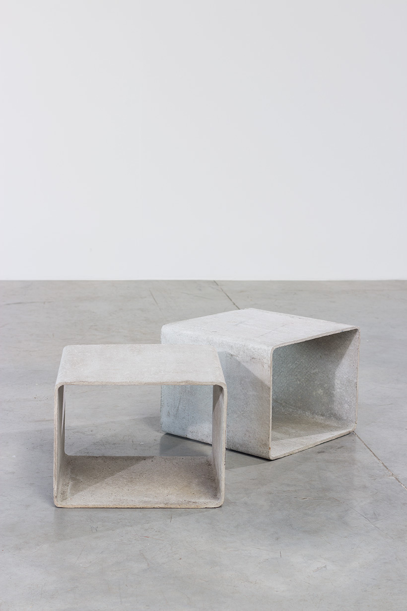 Willy Guhl modular cubic tables for Eternit AG