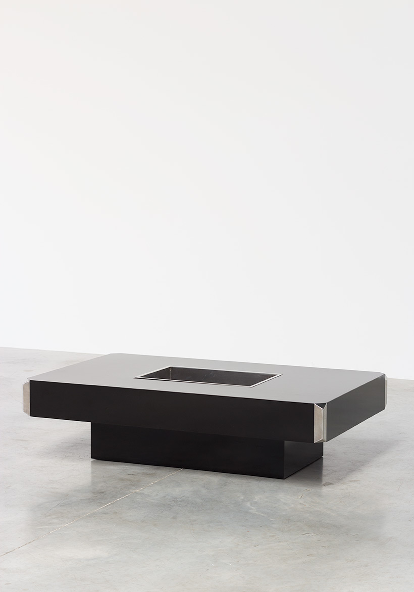 Willy Rizzo Alveo Coffee Cocktail Table 1970