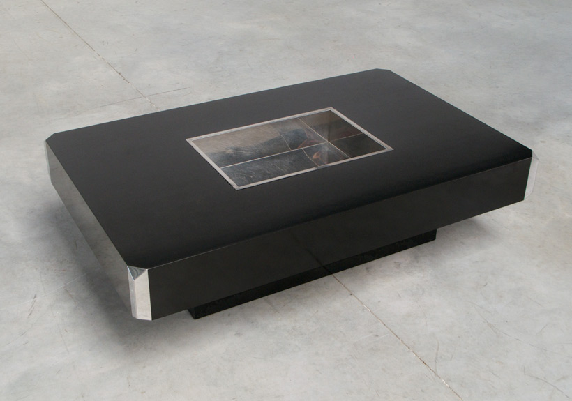 Willy Rizzo Alveo Coffee Table